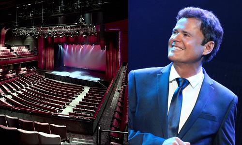 Donny Osmond Casino Concert Package