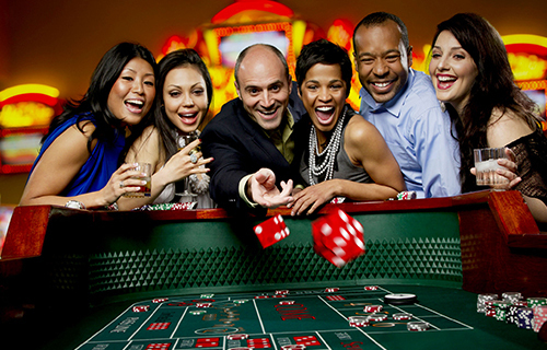 Fallsview Boulevard - April - One Night Casino